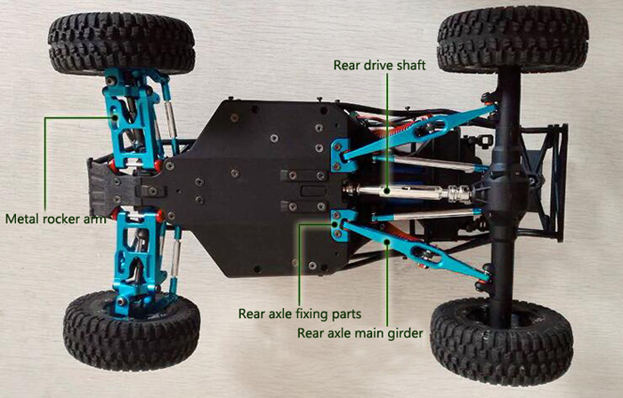 Feiyue FY-01//FY-02//FY-03 wltoys 12428//12423 Upgrade Rear Wheel Transmission R