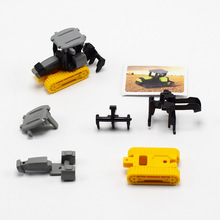EFHH DIY Assembly Farm Machinery Tractor Engineering Car Toys