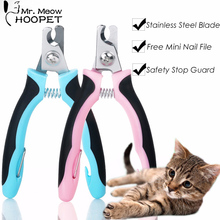 Pet Grooming Clippers Dog Cat Professional Sharp Stainless Steel Nail Clippers with Safety Guard Free Nail File Included