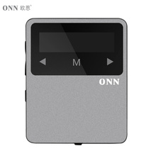 ONN X1 Mini Clip Sport MP3 Player Portable Music 8GB FM Radio Pedometer Multi-funcation 3.5mm Audio Port Bluetooh HiFi Player