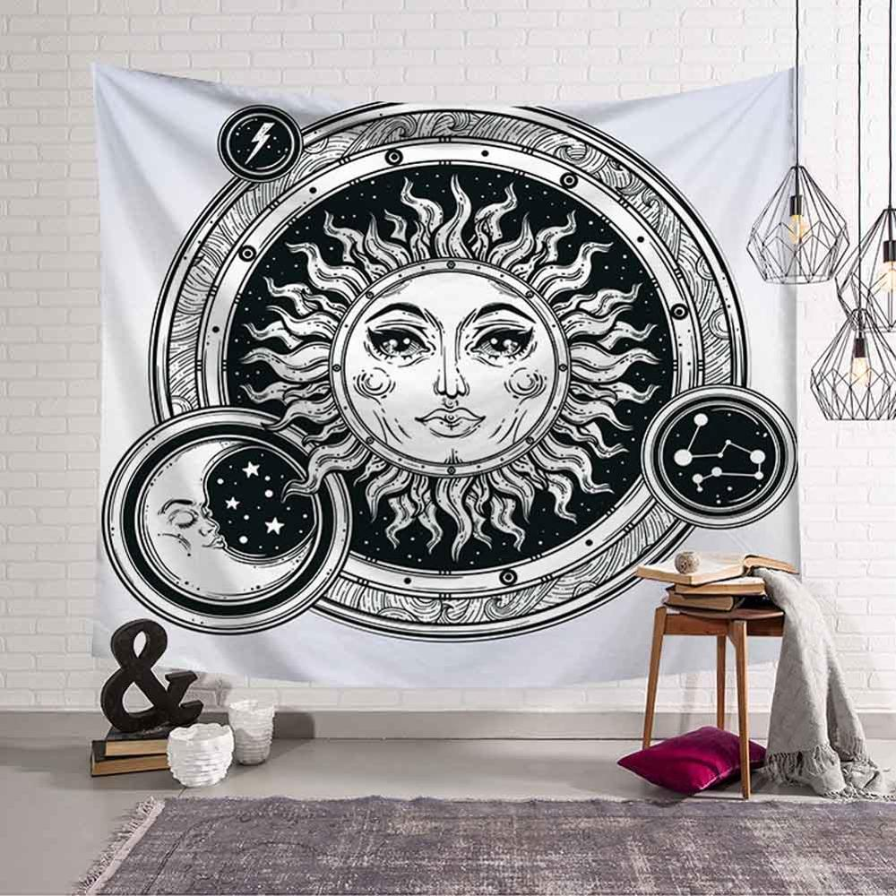 GT8076-10 Sun and Moon Tapestry