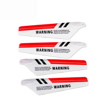 Free shipping SYMA 4pcs/set S107G RC Helicopter toys accessories S107C Main Blade Prolellers Spare Parts