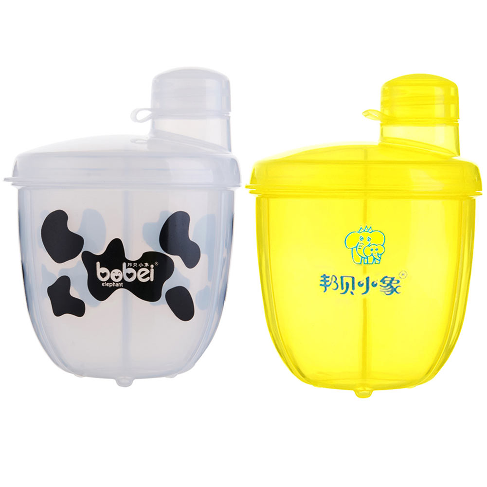 Baby Feeding Box Portable Milk Powder Formula Dispenser Baby Kids Toddler Food Containers Storage White @ZJF