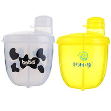 Buy Baby Feeding Box Portable Milk Powder Formula Dispenser Baby Kids Toddler Food Containers Storage White @ZJF for $3.73 in AliExpress store