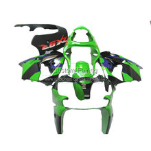 High quality Bodywork parts for Kawasaki ZX9R Ninja zx 9r 2001 2000 00 01 red sticker green Motorcycle fairing kit xl66