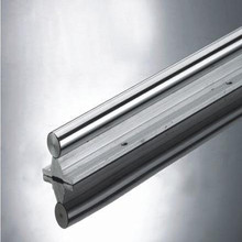SBR12 linear guide rail length 100mm chrome plated quenching hard guide shaft for CNC