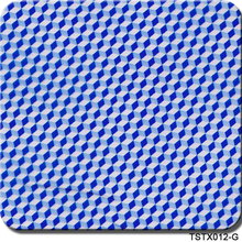 CSTX012-G  0.5mX20m hydrographic water transfer printing blue carbon fiber hydrographics film