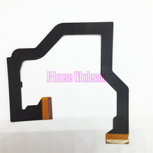 [50PC/ LOT] Top Bottom LCD Screen Ribbon Cable LCD connector cable Replacement for Nintendo for NDS(China)