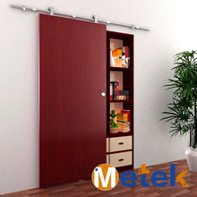 Stainless steel Interior wood sliding  door system design