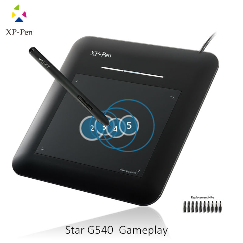 XP-Pen G540 5.5 x 4 inch Graphic Drawing Tablet Writing Board for Game OSU and Battery-free stylus- designed! Gameplay Pen<br>