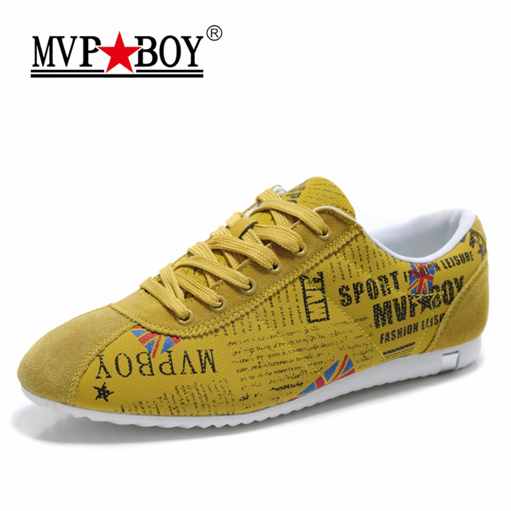 MVP BOY Brand Graffiti Camouflage Shoes Personality Style Fashion Sneakers Men Summer Super Lightweight Lace-Up Casual Shoe Male<br>