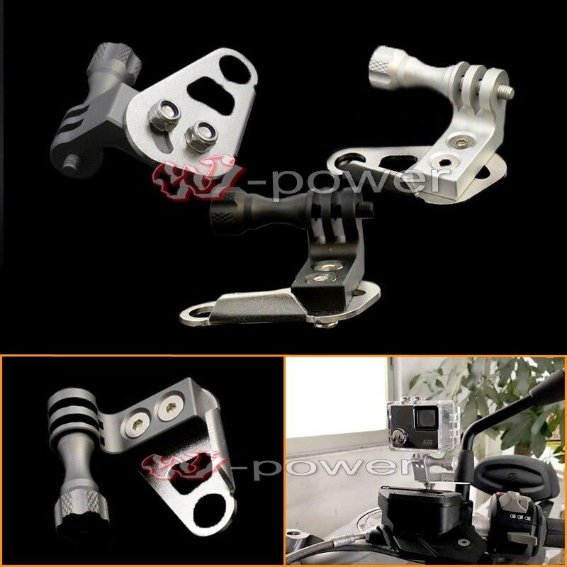 Digital Video recorder/Camera/VCR /Gopro Mount Bracket Cam Rack Indicator on mirror for BMW/YAMAHA/KAWASAKI/SUZUKI/DUCATI/KTM/<br>