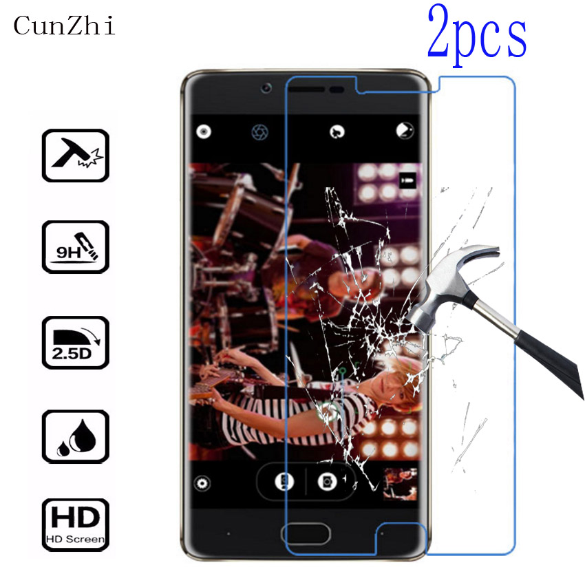 2PCS 9H Tempered Glass Doogee Shoot 1 Screen Protector Doogee Shoot1 Protective Film