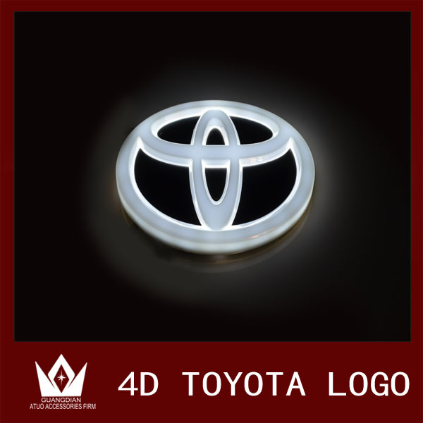 Guang Dian Car logo Light emblem front Chrome badge For alphard For Camry For E2 For REIZ<br><br>Aliexpress