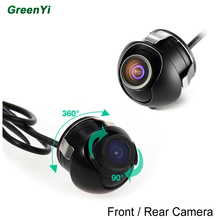 170 Degree Wide Angle Mini CCD Rear View Camera Front View Camera Switch Parking Line Can On/Off From The Control Cable