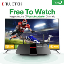 Dalletektv Smart Android IPTV HD STB H.265 Set-top Boxes QHDTV arabic iptv italia subscription 1 year Europe Media Player(China)