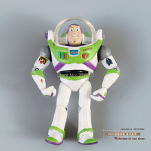 "Free Shipping Toy Story 3 Buzz Lightyear PVC Action Figure Toy Boxed Child Toy Christmas Gift 6"" 10cm DSFG100"