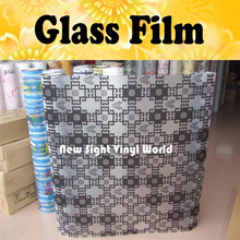 Privacy PVC Glass Window Film Sheet Self Adhesive Film Decorative Glass Film Size:90CM*50M/Roll