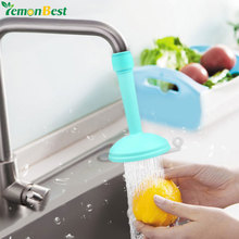Creative Kitchen Bathroom Shower Save Water Tap Rotating Spray Adjustable Faucet Regulator Extender Spill Valve Shower Filter(China)