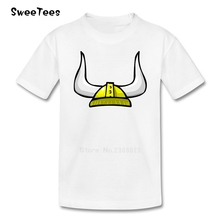 Vikings children's T Shirt Cotton Infant Round Neck Short Sleeve Kid Tshirt Clothing Boy Girl 2017 Best Selling T-shirt For Baby