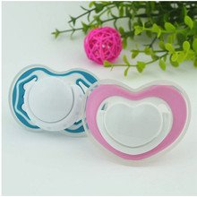 Pacifier safety environmental silicone nipple pacifiers holder for Baby Pacifiers Teether Soother baby products(China)