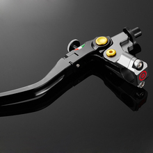 Universal CNC 22mm 7/8'' Multicolor motorcycle Cable Clutch Fold hydraulic brake pump master cylinder lever motorbike handle
