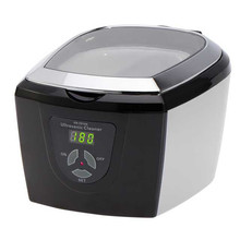 750ML Mini Ultrasonic Cleaner Tank Baskets Jewelery CD Watches Ring Injector Dental 50W Digital Ultrasonic Cleaner