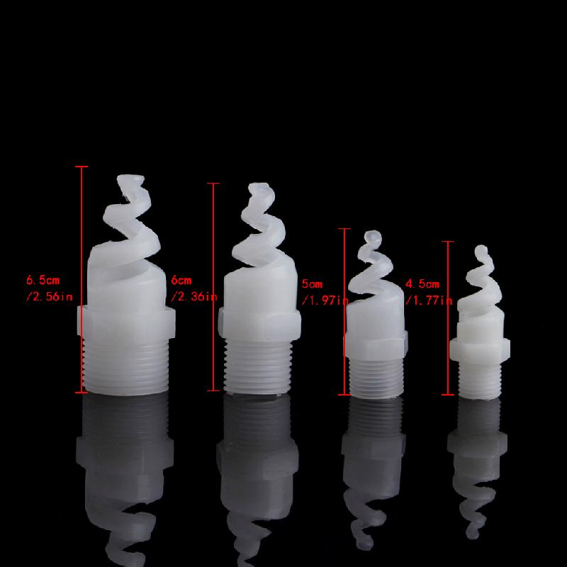 """5pcs New Stainless steel spiral Cone spray nozzle  1//2/"""" bspt"""