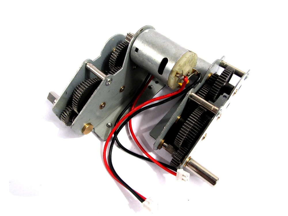 HengLong 3898 US Sherman 3909 Russian T34 85 steel engine gearbox with motor 1 16 RC model tank spare upgrade metal parts<br>