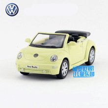 Free Shipping/KiNSMART Toy/Diecast Model/1:38 Scale/2003 Volkswagen New Beetle/Pull Back Car/Collection/Gift For Children(China)