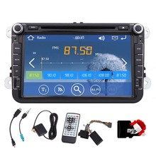 Music SD 8 Inch Sub MP5 Stereo Bluetooth For VW Volkswagen PC GPS Navigator Radio Car DVD Player USB Receiver MP3 Touchscreen