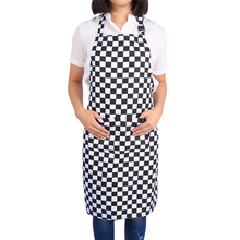Comfortable Women's Apron Oil Proof  Cooking Kitchen Chef Waitress Waist Aprons 5 Colors