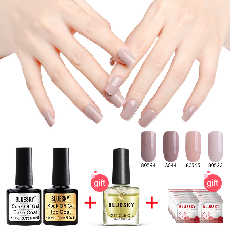 1Set 100% Genuine Best Selling Bluesky Gel Nail Polish Top Popular DIY Nail Art Gel Polish Salon 10ml Nail Gel<br>