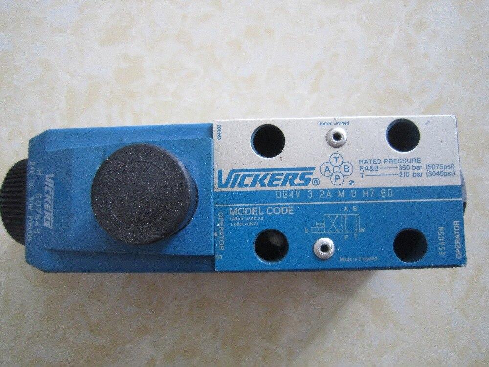 EATON VICKERS hydraulic valve DG4V-3-2A-M-U-H7-60 Solenoid valve magnetic valve<br><br>Aliexpress