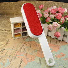 High quality 300PCS/lot Clothes Dusting Static Brush Two-sided Hair Remover Tearing Cleaning Tool(China)