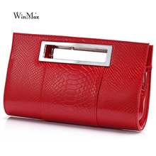 Buy New Brand Women Leather Handbags Fashion Solid Alligator Design Day Clutches Bags Lady Female Clutch Evening Party Bags for $16.71 in AliExpress store