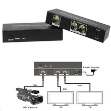 3G/HD/SD_SDI Splitter 1 SDI input signal split to 2 SDI sink devices Support 5-12V wide voltage input signal up to 300m