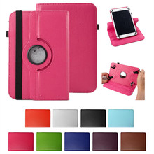 Histers 360 Degree Rotating for 10.1 inch Tablet  Acer Aspire Switch 10 SW5-011 Universal PU Leather Cover Case NO CAMERA HOLE