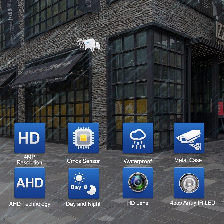 Smar Super CCTV HD 25601440 4MP AHD Camera Outdoor Waterproof Security Video Surveillance Camera 4 IR Array Infrared Metal Case (1)