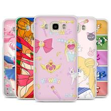 Sailor Moon Crystal Cute Version funny Cell Phone Case Cover for Samsung Galaxy J1 J2 J3 J5 J7 C5 C7 C9 E5 E7 2016 2017 Prime