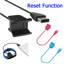 With Reset Function 55mm USB Clip Design Charging for Fitbit Alta HR Charger Band Wristband Bracelet High Quality wholesale(China)
