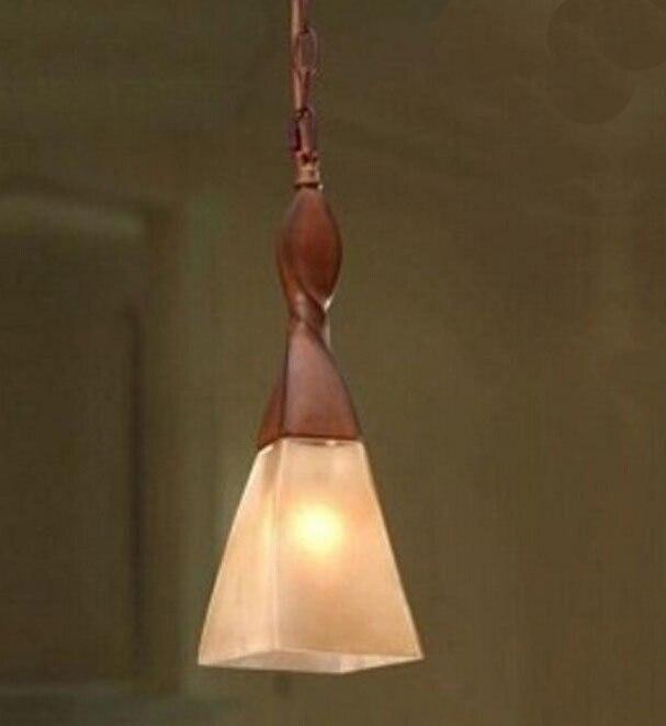 European resin Pendant lampls Restaurant Bar Single-head vintage wood color cafe bar hanging lamps art decor<br><br>Aliexpress