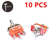 10 PCS KN1121 250V 15A Toggle Switch Touch ON-ON Switch Mini Small Toggle Switch 3 Pins Contralling AC DC Switch
