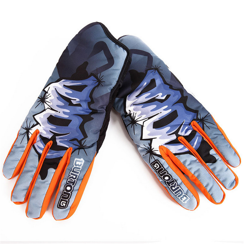 Dropshipping Mens Ski Gloves Snowboard Ski Guanti Gloves Snowmobile Motorcycle Riding Winter Gloves Women Windproof Waterproof<br>