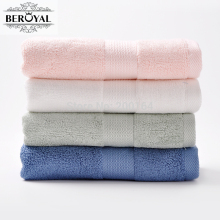 New 2017 Beroyal 4 Pack Bamboo Hand Towel 34*75cm Bamboo-fiber Terry Face Magic Satin Toalha Bamboo Towel Set(China)
