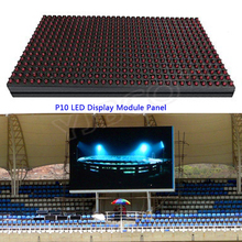 RGB LED Module Window Sign Shop Sign out door IP65 320*160mm full color /single color Matrix DIY P10 LED Display Module Panel(China)