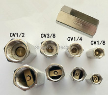 "10pcs 1/4"" BSPP Female Full Ports One Way Air Check Valve"