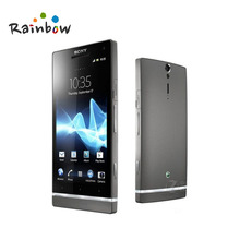 "Original Sony Xperia S LT26i Cell Phone 4.3"" Touch Screen Android 12MP WIFI GPS Internal 32GB Free Shipping(China)"