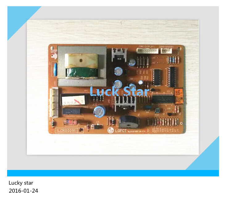 95% new for LG refrigerator computer board circuit board 1LCR00091A BCD-230 driver board good working<br>