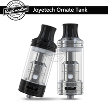 Original Joyetech ORNATE tank 6ml e-juice capacity top filling system ornate sub ohm atomizer with MGS Triple coil head